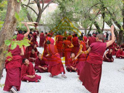 Monks Debate, Sear Monastery