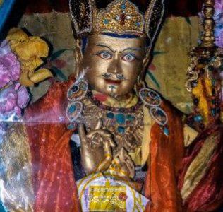 Buddha in Sheldrak Cave