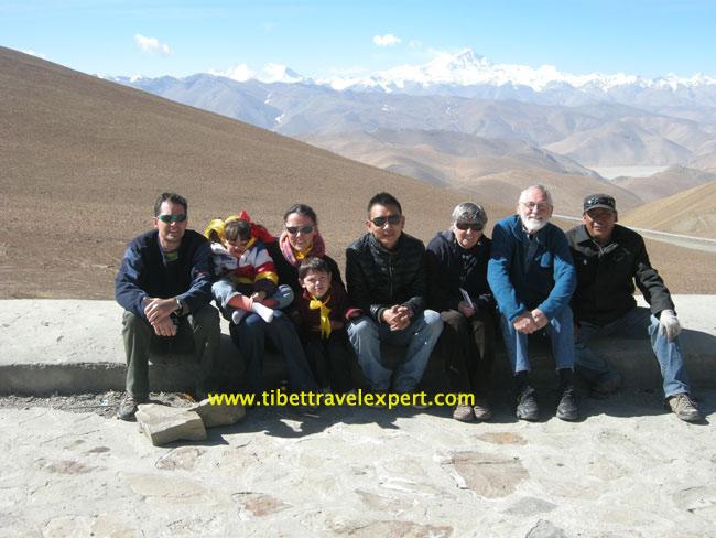 Tibet family tour