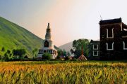 xinduqiao-view Scenery Tour of Sichuan to Tibet photo tour