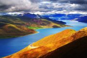 Lake Yamdrok Sightseeing attraction in Tibet