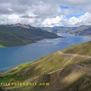 Lake Yamdrok,Tibet