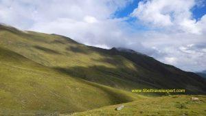Ganden to Samye trekking hills