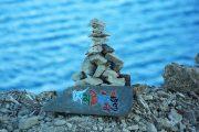 Holy Namtso Lake-Mani Pile