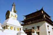 Tibet-Lhasa-Attraction-Ganden-Monastery