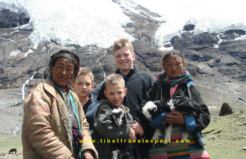 Tibet tour departures July, 2017, Tibet family tour