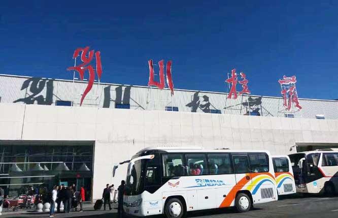 Tibet transportation news, Tibet airlines shuttle bus