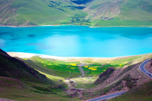 Yamdrok Lake ,Tibet tour