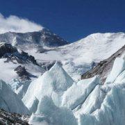 Rongphu Glacier in Mt. Everest National Nature Reserve