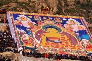 Thangka Unveiling, Drepung Monastery