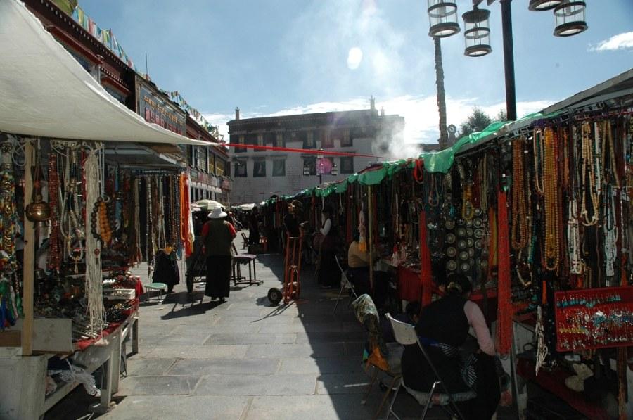Tibetan Barkhor Streets-Picture-Explore Lhasa Tibet with Tibet Travel Expert Service